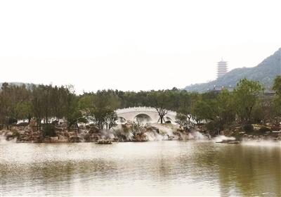 牛首山文化旅游区开建金陵小镇