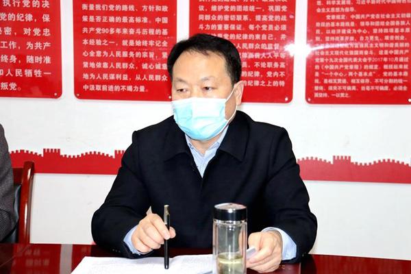 潢川县教体局传达县第十二届纪律检查委员会第五次全体会议精神