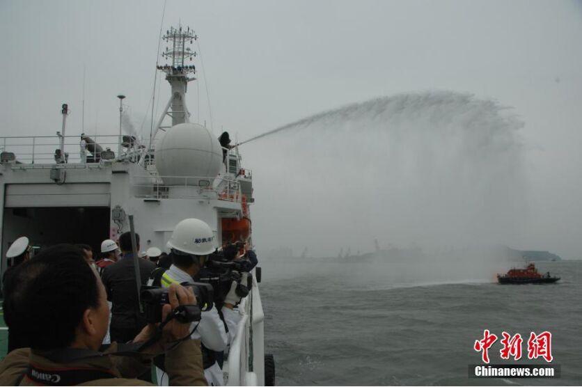 中国救捞系统南部海区应急救援演练在北海举行